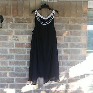 Lane Bryant Casual 🌞 Dress Black NWT 18/20